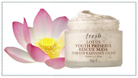 ผลการค้นหารูปภาพสำหรับ fresh lotus youth preserve rescue mask