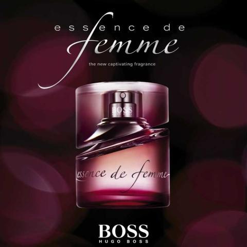 Parfum nocturne par Hugo Boss