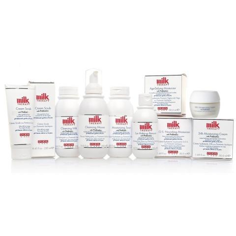 Milk Therapy, des soins visage lactés par Pupa