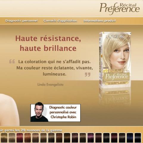 L\'Oréal Paris lance le diagnostic couleur sur-mesure en ligne