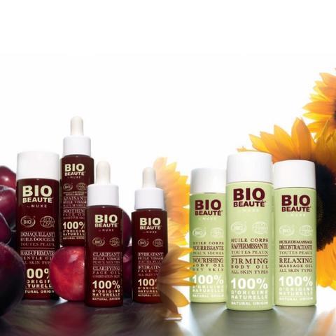 Bio-Beauté, la cosmétique bio selon Nuxe