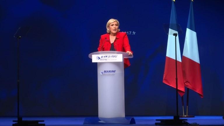 Le Pen veut un