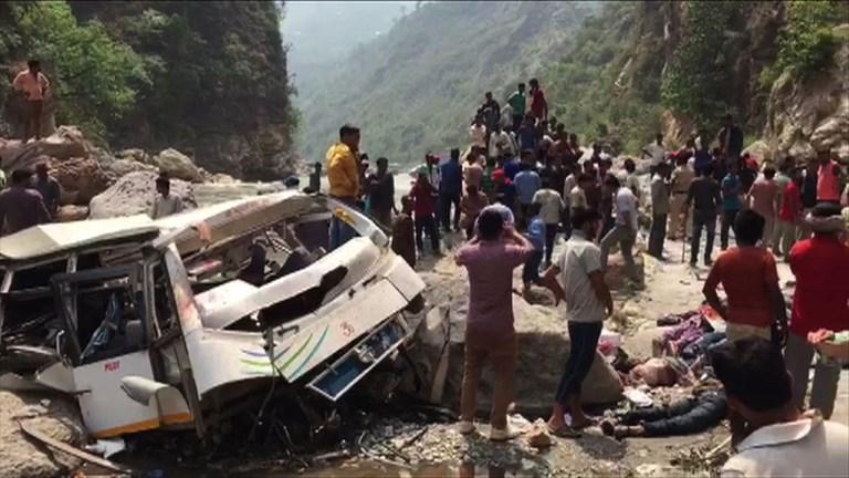 Inde: 44 morts dans un accident de bus