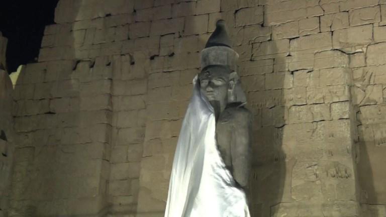 Egypte: une statue de Ramsès II dévoilée à Louxor