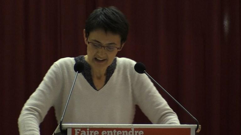 Dernier meeting de campagne à Lille pour Nathalie Arthaud