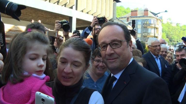 La Corrèze indulgente pour F. Hollande, attend son retour