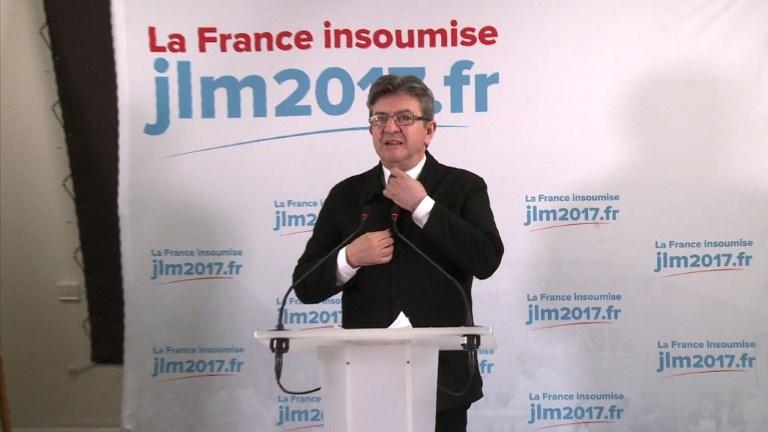 Jean-Luc Mélenchon se prépare aux législatives