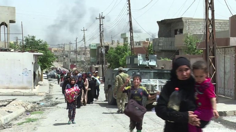 Les forces irakiennes progressent dans l'ouest de Mossoul