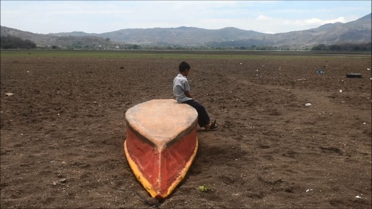 Guatemala : un lac asséché victime du changement climatique