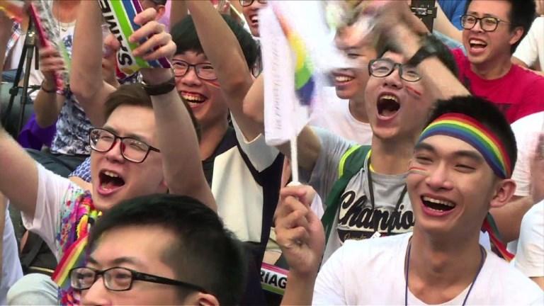 Taïwan : décision historique en faveur du mariage gay