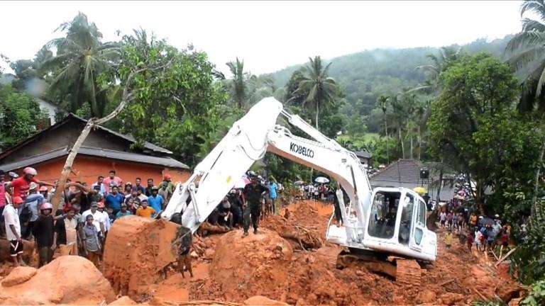 Plus de 90 morts dans des inondations au Sri Lanka