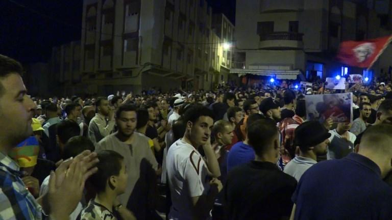 Nouvelle manifestation dans le nord du Maroc