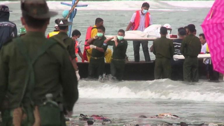 Crash d'avion en Birmanie: une trentaine de corps repêchés