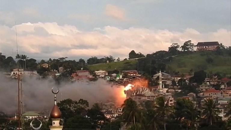 Philippines: combats intenses à Marawi entre armée et islamistes