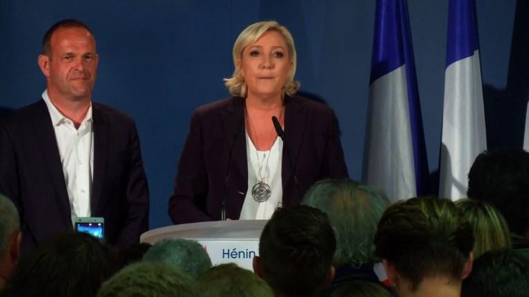 Marine Le Pen appelle ses partisans à se mobiliser