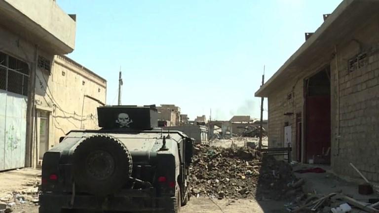 Mossoul: les forces irakiennes avancent dans la vieille ville