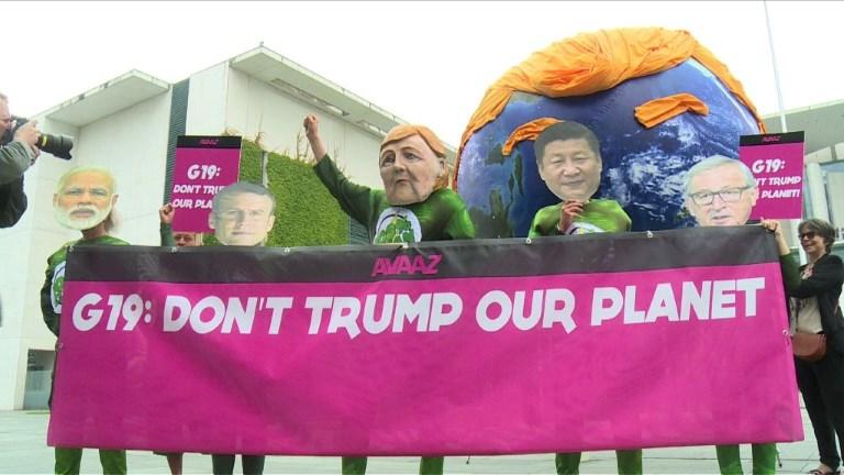 Berlin: manifestation sur le climat avant le sommet du G20