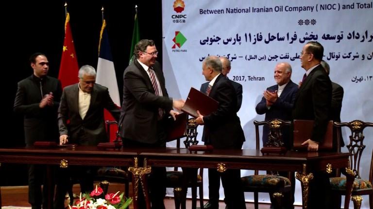 Total signe un accord gazier en Iran de plus de 4 Mds de dollars