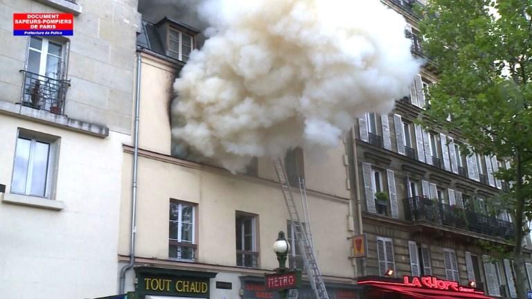 Paris: un mort et onze blessés dans un violent feu d'appartement