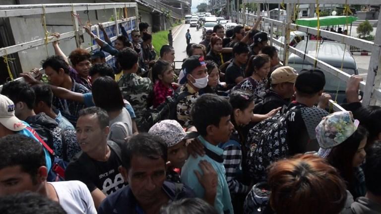Thaïlande: des milliers d'illégaux birmans rentrent chez eux