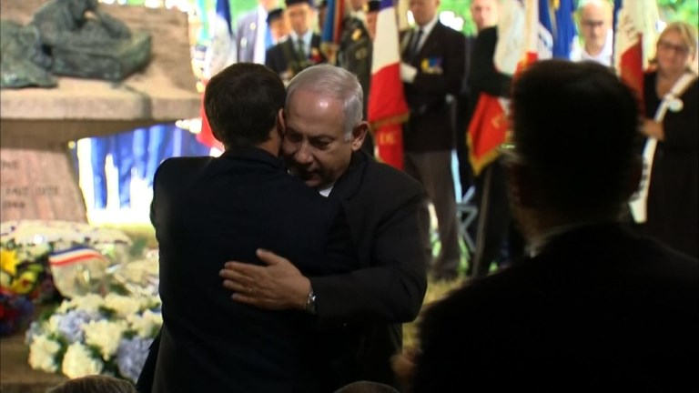 Macron et Netanyahu commémorent ensemble la rafle du Vel d'Hiv
