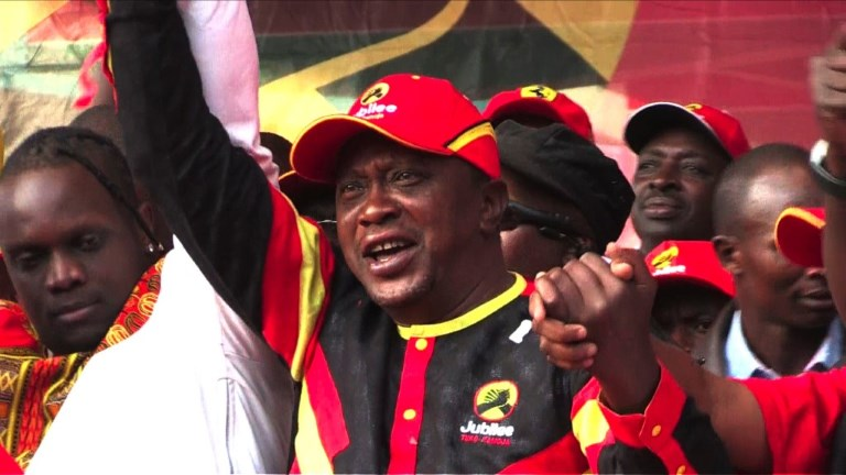 Le président Kenyan organise un meeting politique à Nairobi