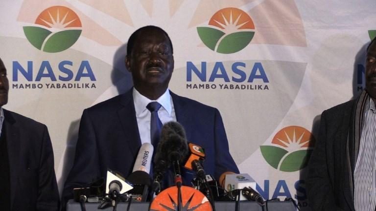 La tension monte au Kenya, où l'opposition crie à la fraude
