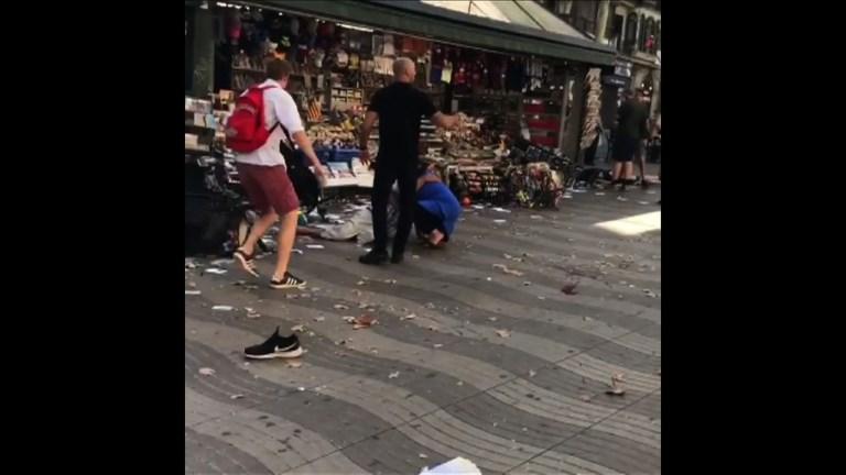 Treize morts et plus de 50 blessés dans l'attentat de Barcelone