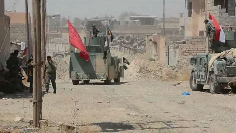 Les troupes avancent vers le centre d'un fief de l'EI en Irak