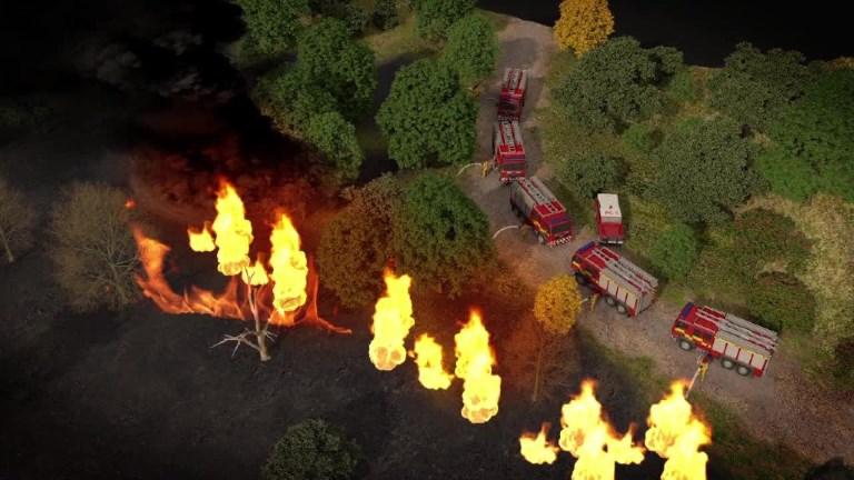 Combattre les feux de forêt