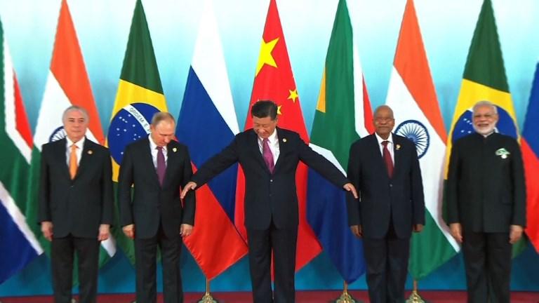 Début du sommet des Brics en Chine