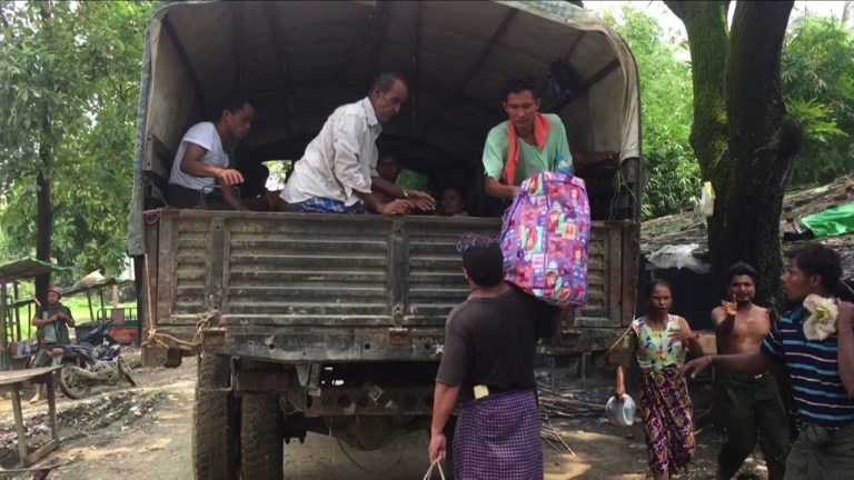 Birmanie: 123.600 Rohingyas réfugiés au Bangladesh, selon l'ONU