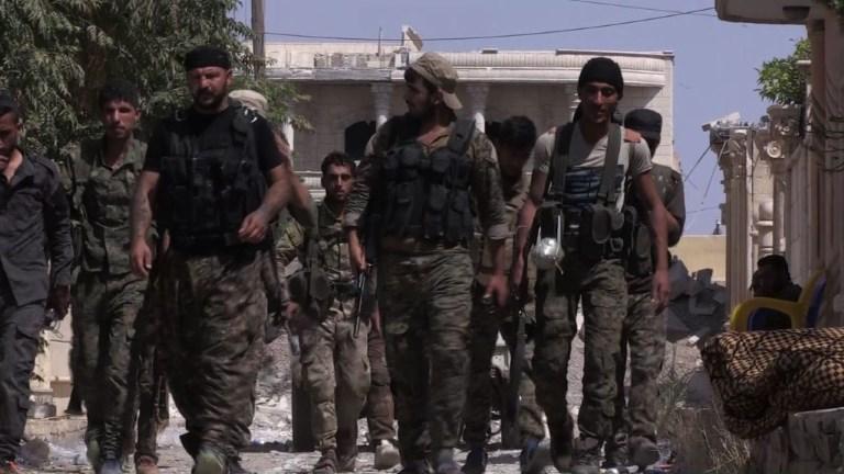 Syrie: dans la vieille ville de Raqa les FDS font face à l'EI