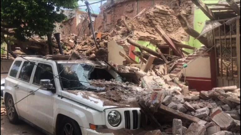 Mexique: destruction à Juchitan après le séisme