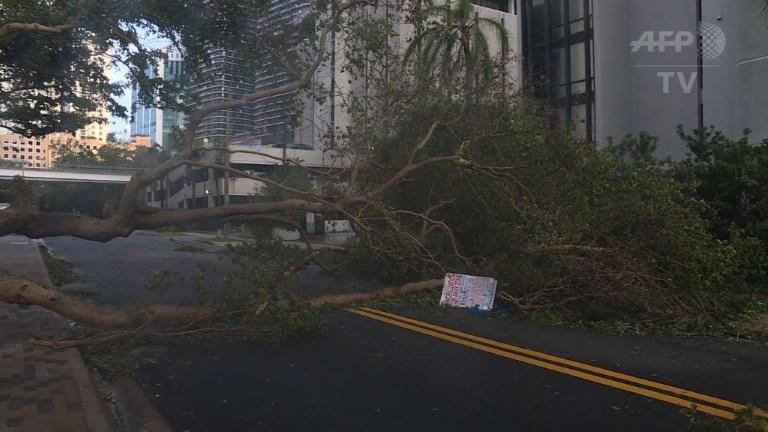 Miami soulagée après des dégâts moins importants que prévus