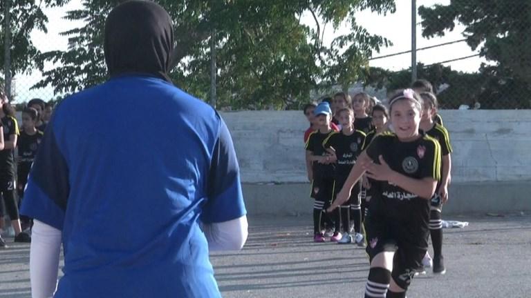 Le foot féminin gagne du terrain en Cisjordanie