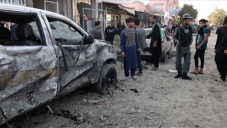 Six morts dans un attentat-suicide à Kaboul