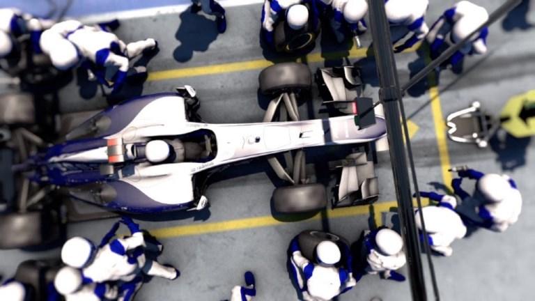 Formule 1: les arrêts au stand