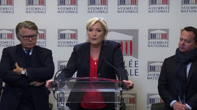 Loi antiterroriste: le FN votera contre (Marine Le Pen)