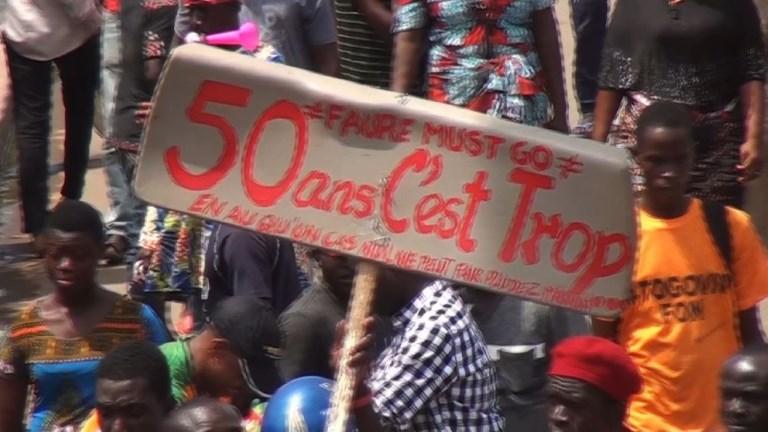 Togo : tensions lors de manifestations contre le président
