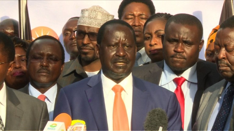 Kenya: Odinga annonce son retrait du scrutin du 26 octobre