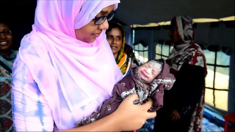 Mohammed Jubayed, né dans la misère des camps rohingyas