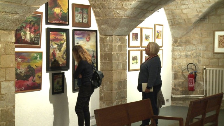 Sainte-Anne expose 150 ans d'oeuvres de patients