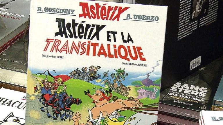 Le nouvel album d'Astérix et Obélix arrive en librairie