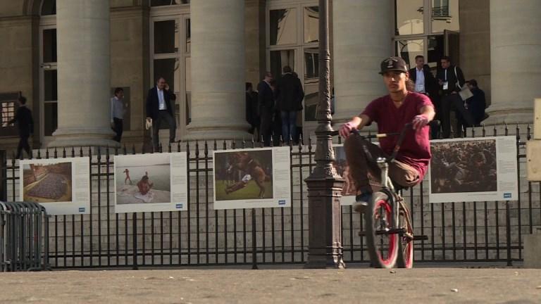 Cyclisme/BMX: Julian Molina, amputé d'une jambe et rider magique
