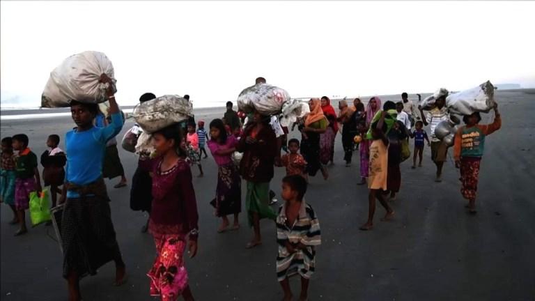 Les Rohingyas continuent de fuir la Birmanie