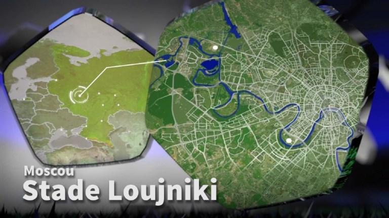 Le stade Loujniki