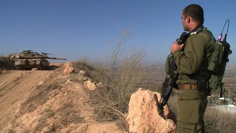 Israël surveille les lignes de démarcation avec le Liban
