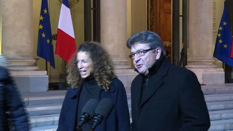 Européennes : Mélenchon défend