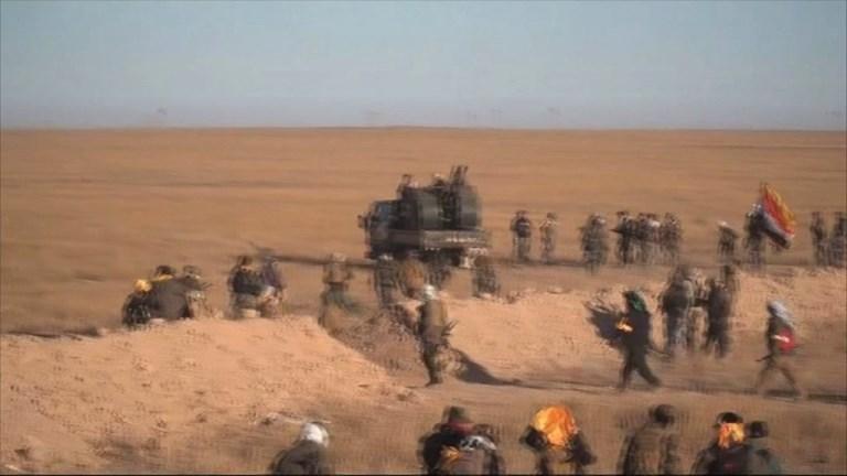 L'Irak lance la dernière offensive pour éliminer l'EI du pays